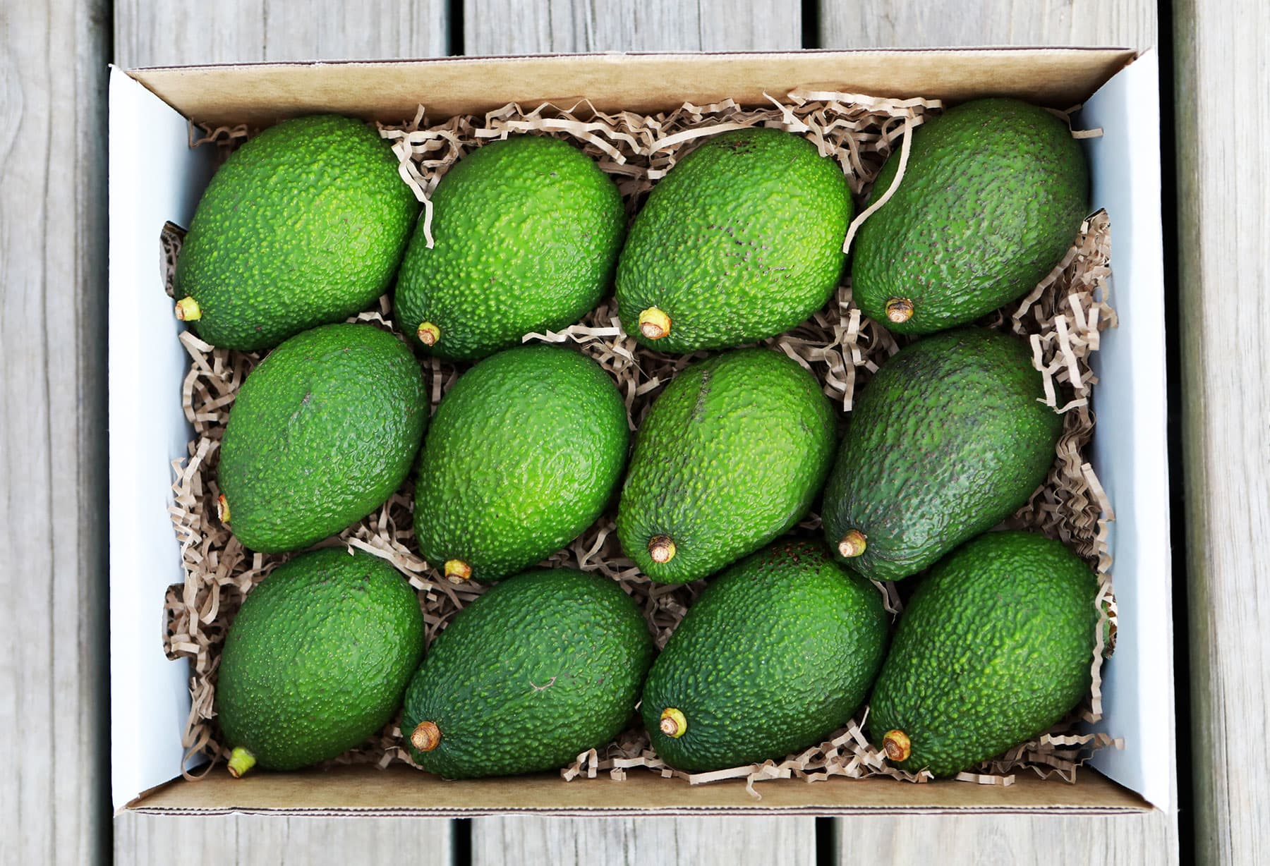3.5kg box of Hass Avocados